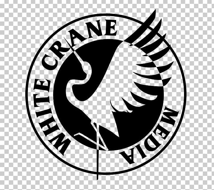 White Crane Holistic Health Care Logo Graphic Designer PNG
