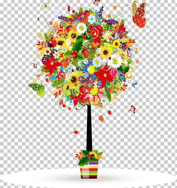 Flower Floral Design PNG, Clipart, Art, Balloon, Beautifully, Color, Colorful Free PNG Download