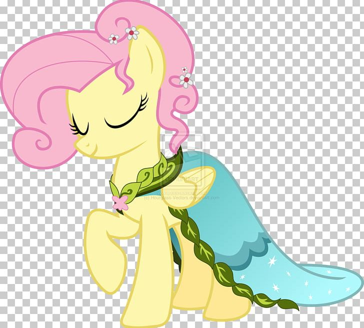 Fluttershy Rainbow Dash Rarity Dress My Little Pony Png Clipart