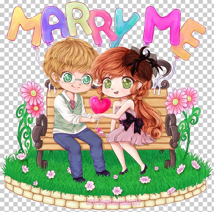 Marriage Proposal Manga Girlfriend Anime Drawing PNG, Clipart, Anime