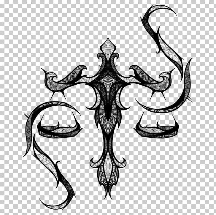 Libra Tattoo Zodiac Astrological Sign Symbol Png Clipart