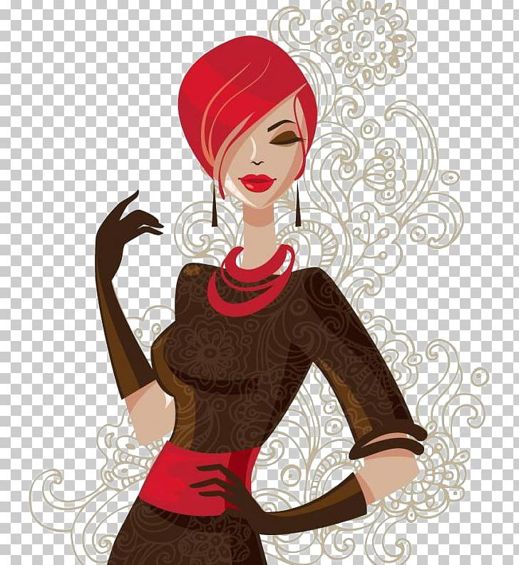Drawing Girl Woman Illustration Png Clipart Beauty Beauty Salon Cartoon Element Encapsulated Postscript Free Png Download