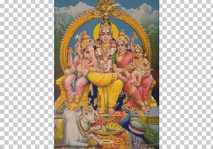 Mahadeva Parvati Ganesha Kartikeya Hinduism PNG, Clipart, Art, Desktop Wallpaper, Family, Ganesha, Hinduism Free PNG Download