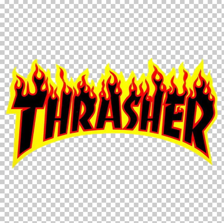 Thrasher Sticker Skateboarding Decal PNG, Clipart, Brand, Clothing, Decal, Die Cutting, Flame Free PNG Download