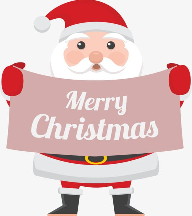 merry christmas santa holding a sign png clipart cartoon cartoon characters characters christmas christmas clipart free merry christmas santa holding a sign