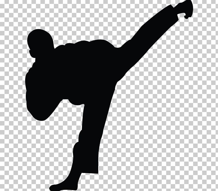 Taekwondo Karate Martial Arts Kick PNG, Clipart, Arm, Black And White, Black Belt, Black Card, Computer Icons Free PNG Download