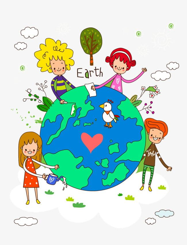 Картинка планета детей