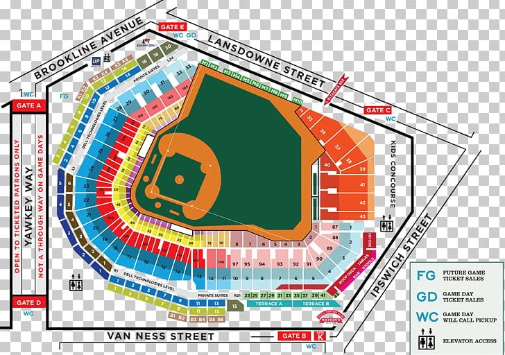 Fenway Park Boston Red Sox Mlb Map Seating Assignment Png Clipart