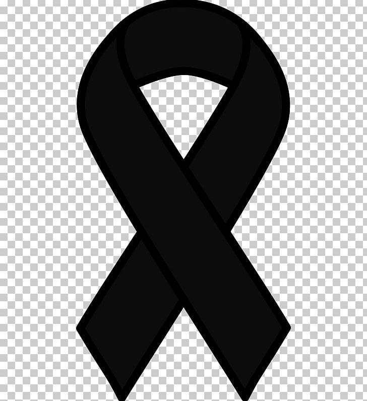 Awareness Ribbon Black Ribbon Pink Ribbon Cancer Png Clipart Angle Awareness Ribbon Black Black And White