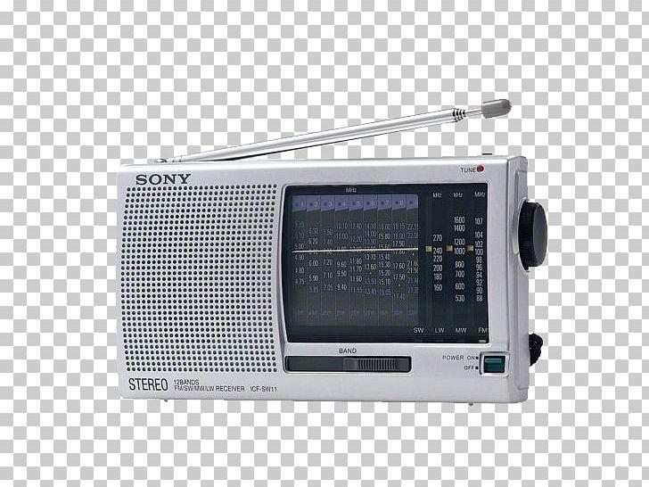 Digital Radio FM Broadcasting Sony Shortwave Radio Receiver PNG