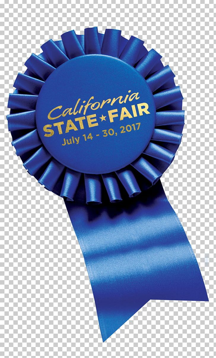 California blue. State fair ribbon