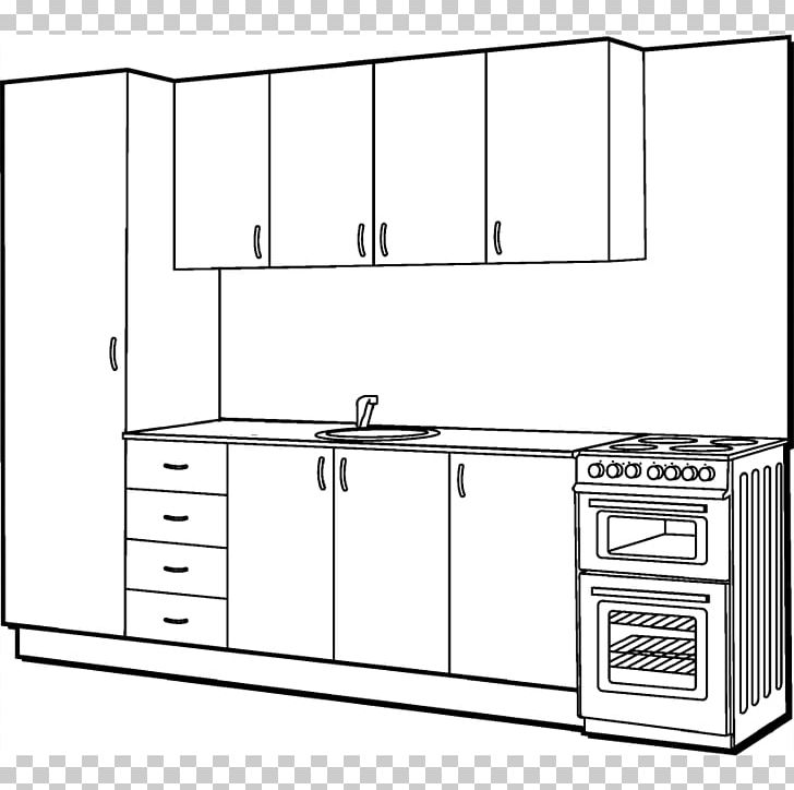Kitchen Cooking Ranges Furniture Shelf PNG, Clipart, Angle, Area, Bathroom, Bathroom Accessory, Black And White Free PNG Download