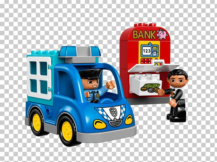LEGO 10809 Duplo Town Police Patrol Amazon.com Toy The Lego Group PNG, Clipart, Amazoncom, Car, Construction Set, Duplo, Lego Free PNG Download