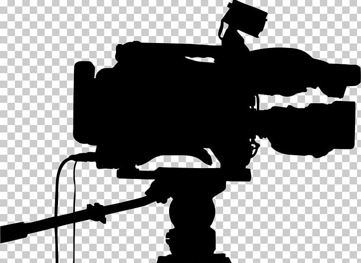 Video Cameras Professional Video Camera Silhouette PNG, Clipart, Animals, Black And White, Camera, Camera Accessory, Camera Operator Free PNG Download