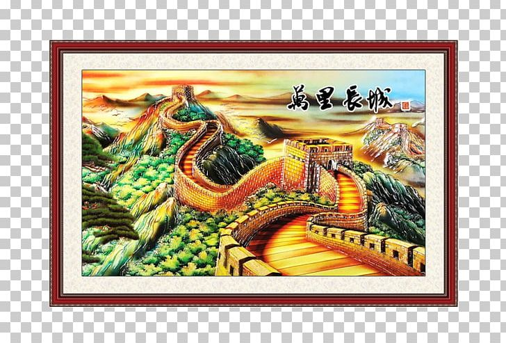 Great Wall Of China Tibetan Buddhist Wall Paintings Png Clipart