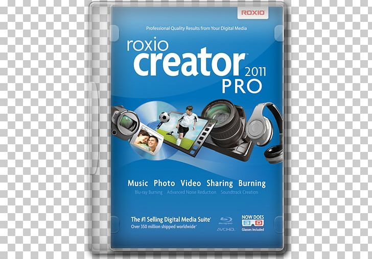 Roxio Creator Computer Software Digital Video DVD PNG, Clipart
