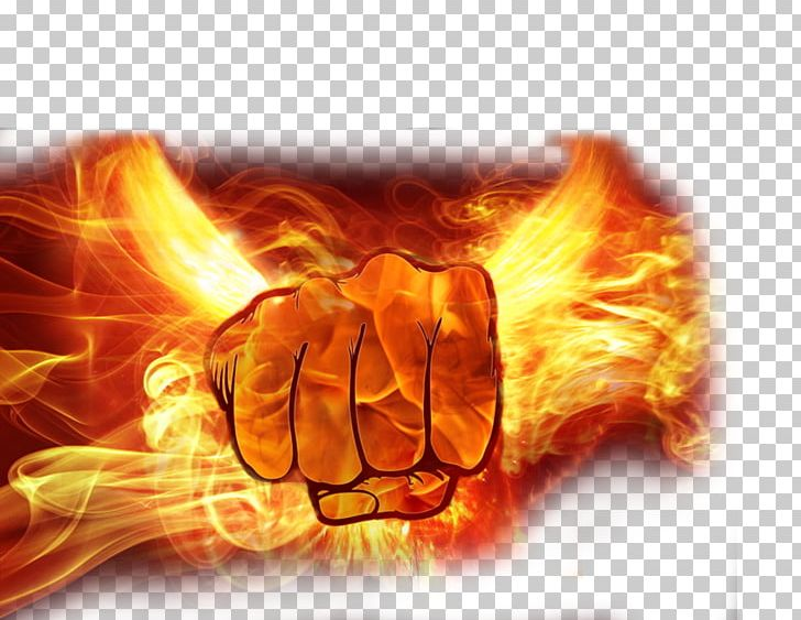 Flame Fire Fist Png Clipart Blue Flame Catch Computer Computer