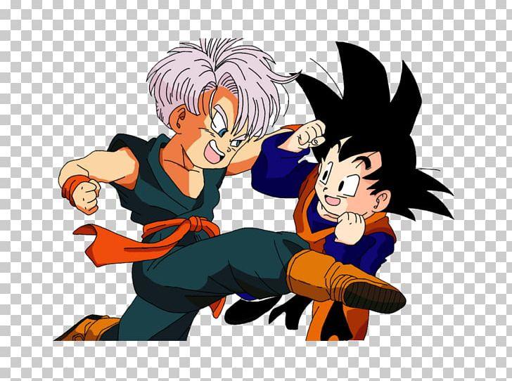 Trunks Goten Goku Majin Buu Vegeta Png Clipart Android 18 Anime Art Cartoon Computer Wallpaper Free
