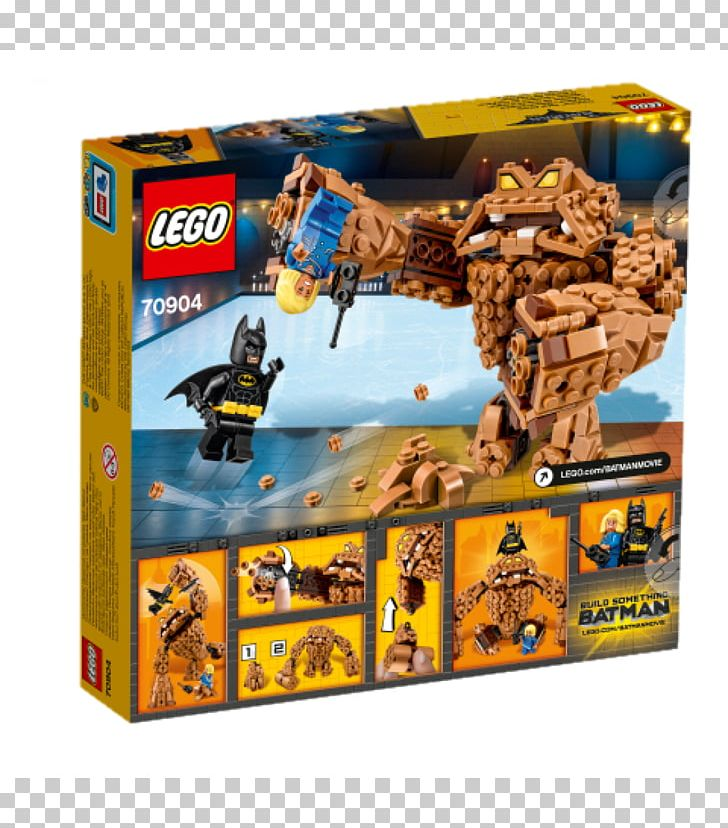 Lego 70904 The Lego Batman Movie Clayface Splat Attack Mayor