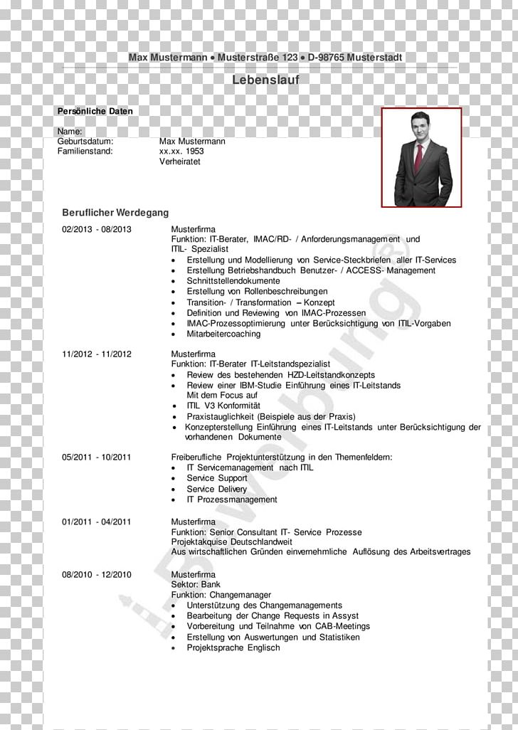 Curriculum Vitae Résumé Application For Employment How To