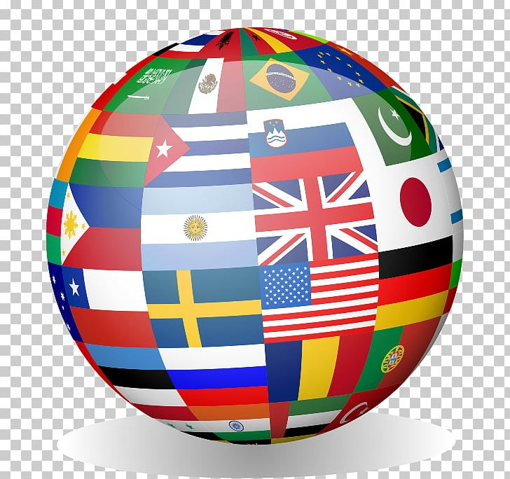 Globe Flags Of The World National Flag Png Clipart Ball