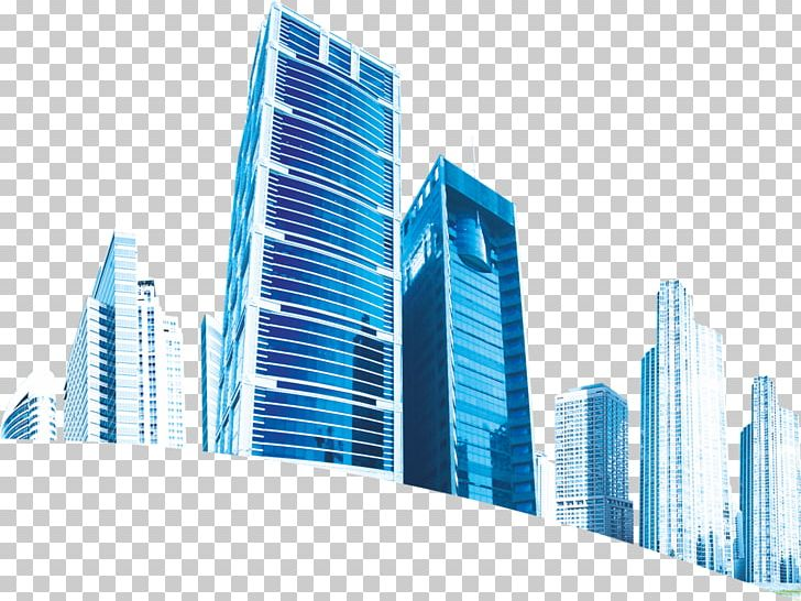 City Blue Architecture Png Clipart Blue Blue Abstract