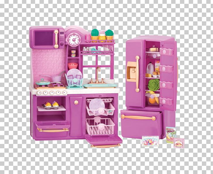 Kitchen Cabinet Table Refrigerator American Girl Png Clipart