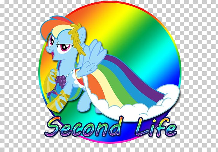 Rainbow Dash Computer Icons Second Life PNG, Clipart, Area