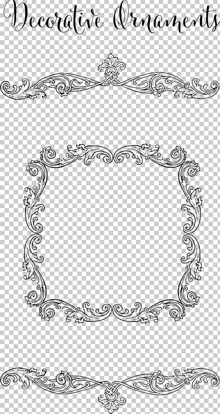 Frames Ornament Decorative Arts PNG, Clipart, Area, Art, Black, Black And White, Border Free PNG Download
