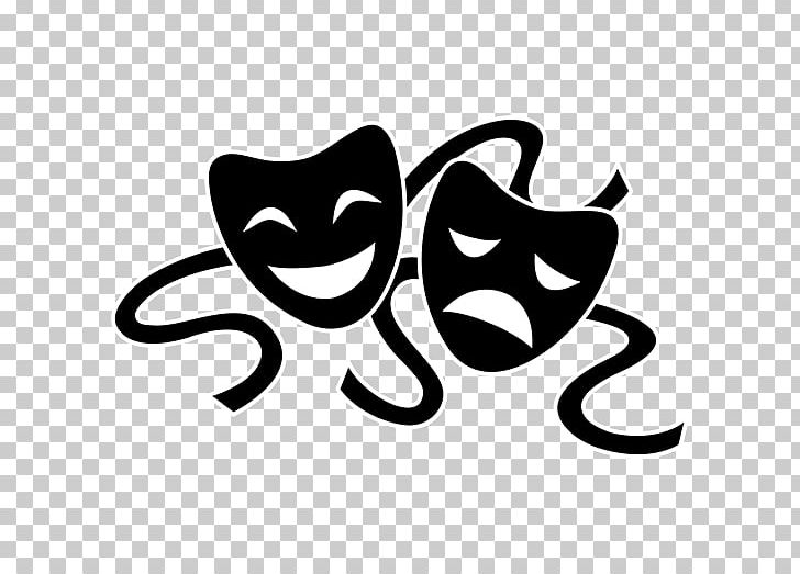 Paramount Theater Royal National Theatre Mask Drama PNG, Clipart, Actor, Art, Black, Black And White, Carnivoran Free PNG Download