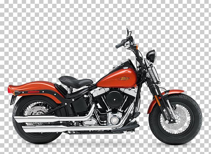 Harley-Davidson Softail Motorcycle Bobber Cruiser PNG