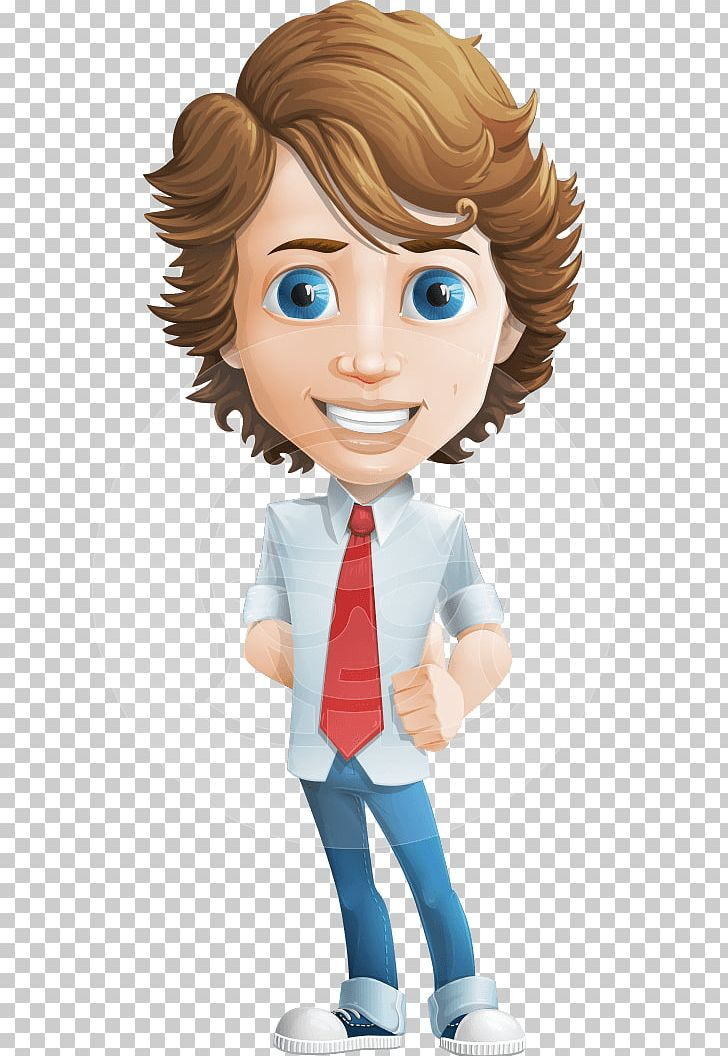 Cartoon Drawing Character Png Clipart Animation Boy Brown Hair