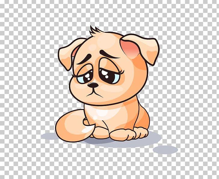Dog Puppy Emoticon Sticker PNG, Clipart, Animals, Big Cats
