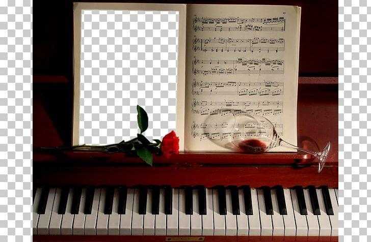 Piano Frame Music PNG, Clipart, Border, Border Frame