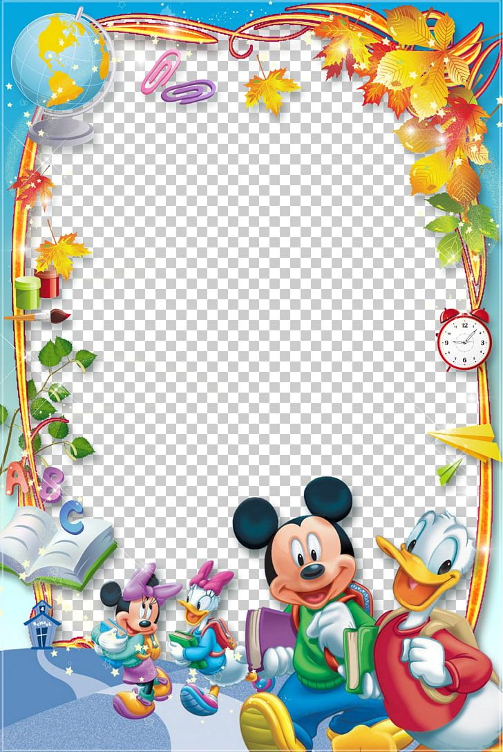Mickey Mouse Minnie Mouse Daisy Duck Donald Duck Frames PNG, Clipart, Area, Art, Baby Toys, Cartoon, Child Art Free PNG Download