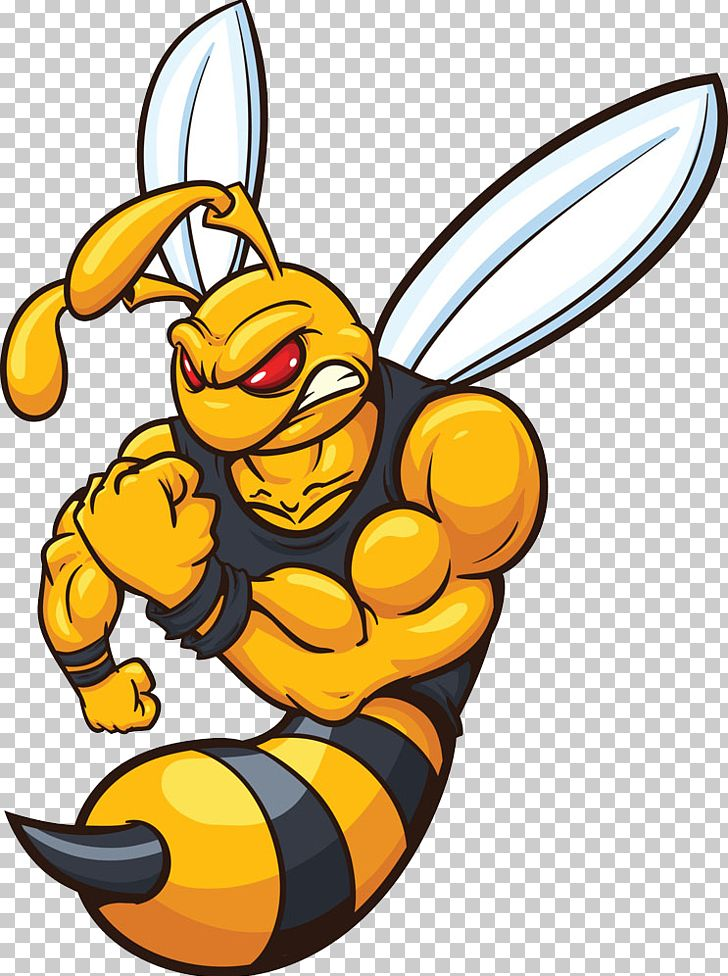 Hornet Bee Yellowjacket Cartoon Png Clipart Animal Art Bee