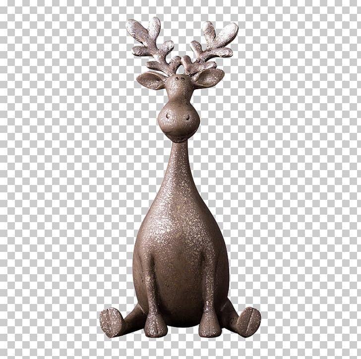 Reindeer Ceramic Handicraft PNG, Clipart, Animals, Antler, Art, Ceramic, Data Free PNG Download
