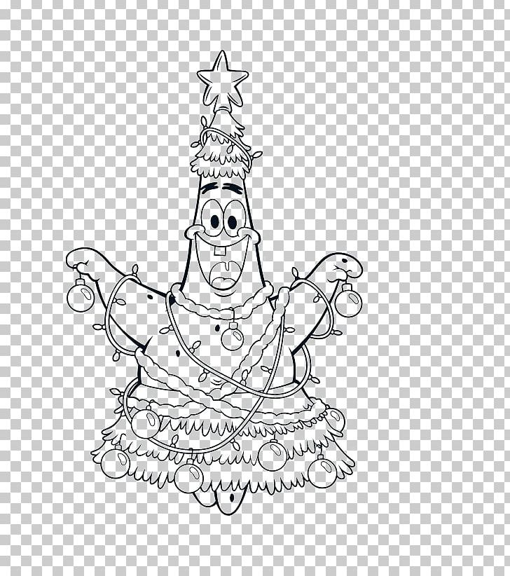 Patrick Star Christmas Coloring Pages Coloring Book It S A Spongebob Christmas Christmas Day Png Clipart Free