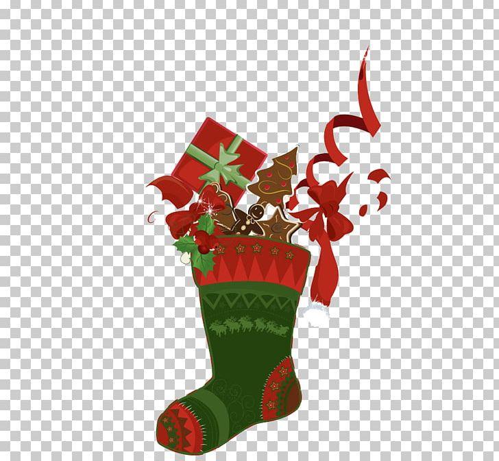 Christmas Boots Drawing.Christmas Sock Drawing Illustration Png Clipart