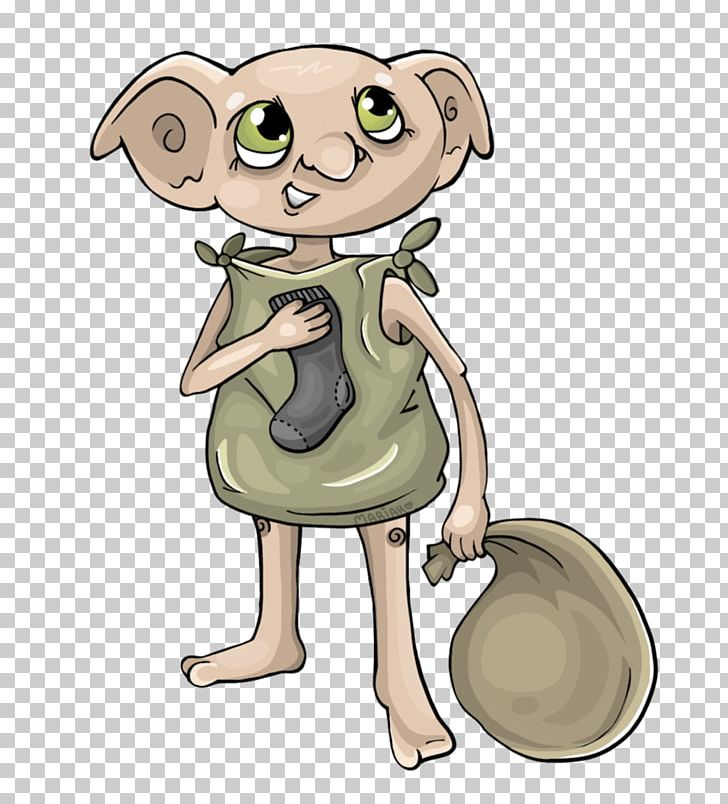 Dobby The House Elf Fictional Universe Of Harry Potter Harry Potter (Literary Series) PNG, Clipart, Art, Carnivoran, Cartoon, Comic, Dobby The House Elf Free PNG Download