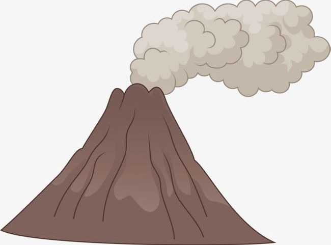 Volcanic Eruption Pattern Png Clipart Active Active Volcano