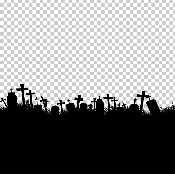 Cemetery Ghost Stock Photography PNG, Clipart, Black, Black And White, Computer Wallpaper, Drawing, Festive Elements Free PNG Download