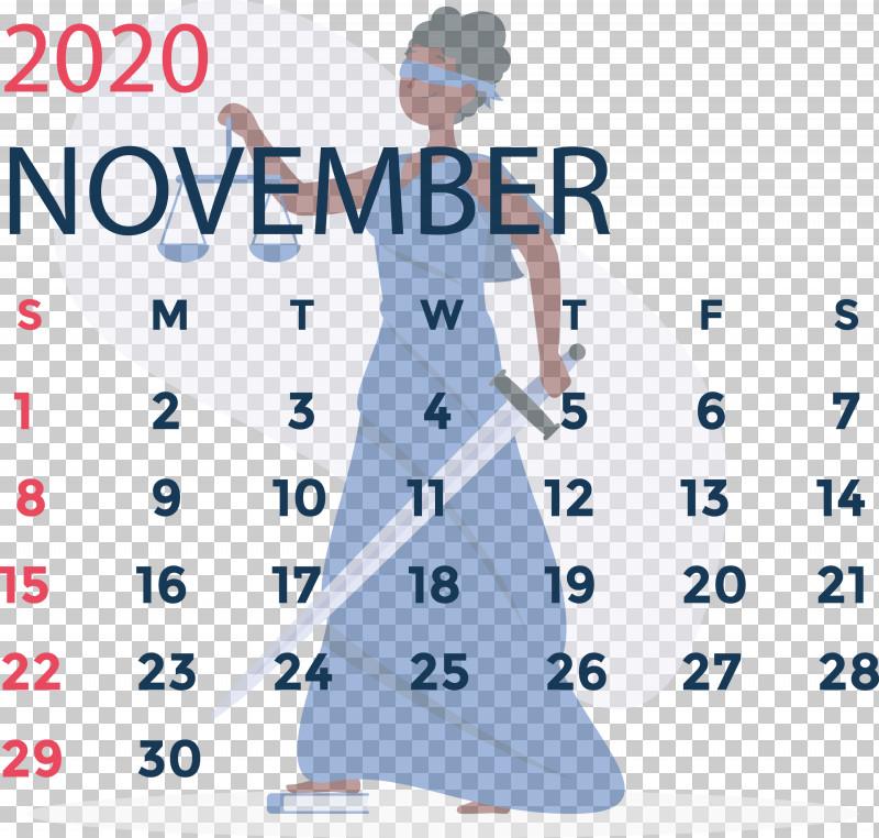November 2020 Calendar November 2020 Printable Calendar PNG, Clipart, Angle, Area, Calendar System, Headgear, Joint Free PNG Download