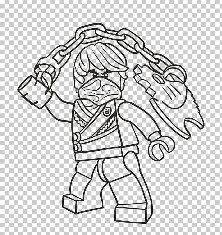 Lego Ninjago Coloring Pages Drawing Coloring Book Png