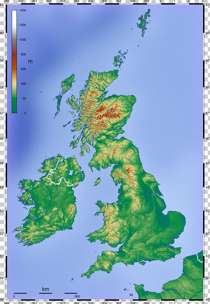physische karte england England British Isles Topographic Map Physische Karte PNG, Clipart