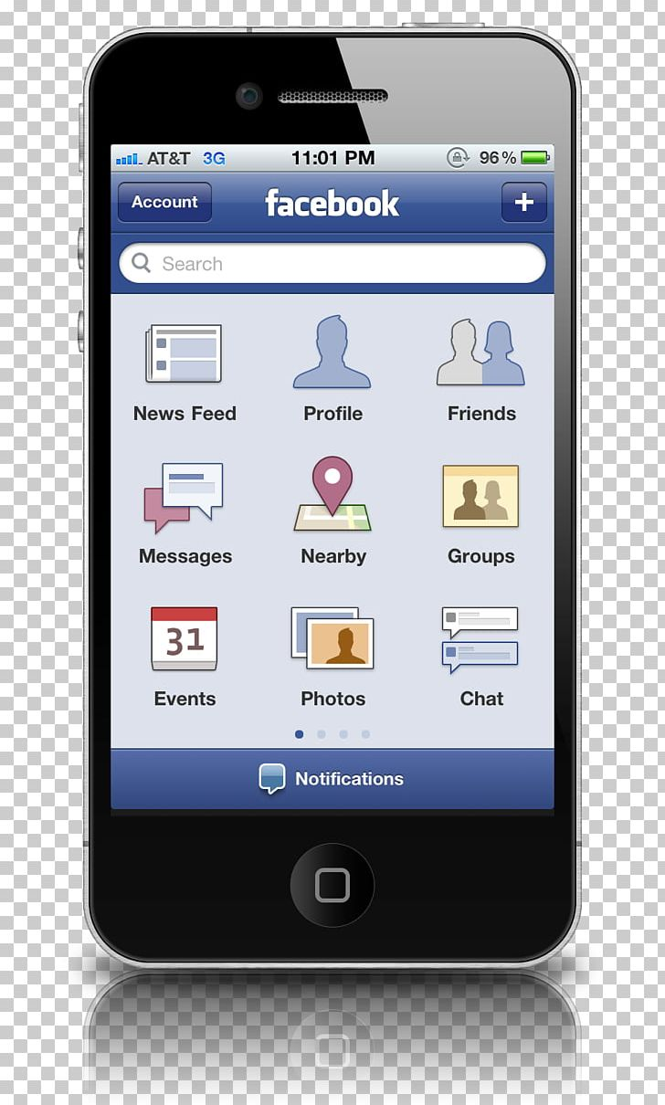 IPhone 4S Mobile App Facebook IOS Computer Icons PNG, Clipart, App
