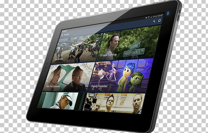 Tablet Computers Vudu Video Film Mobile App PNG, Clipart