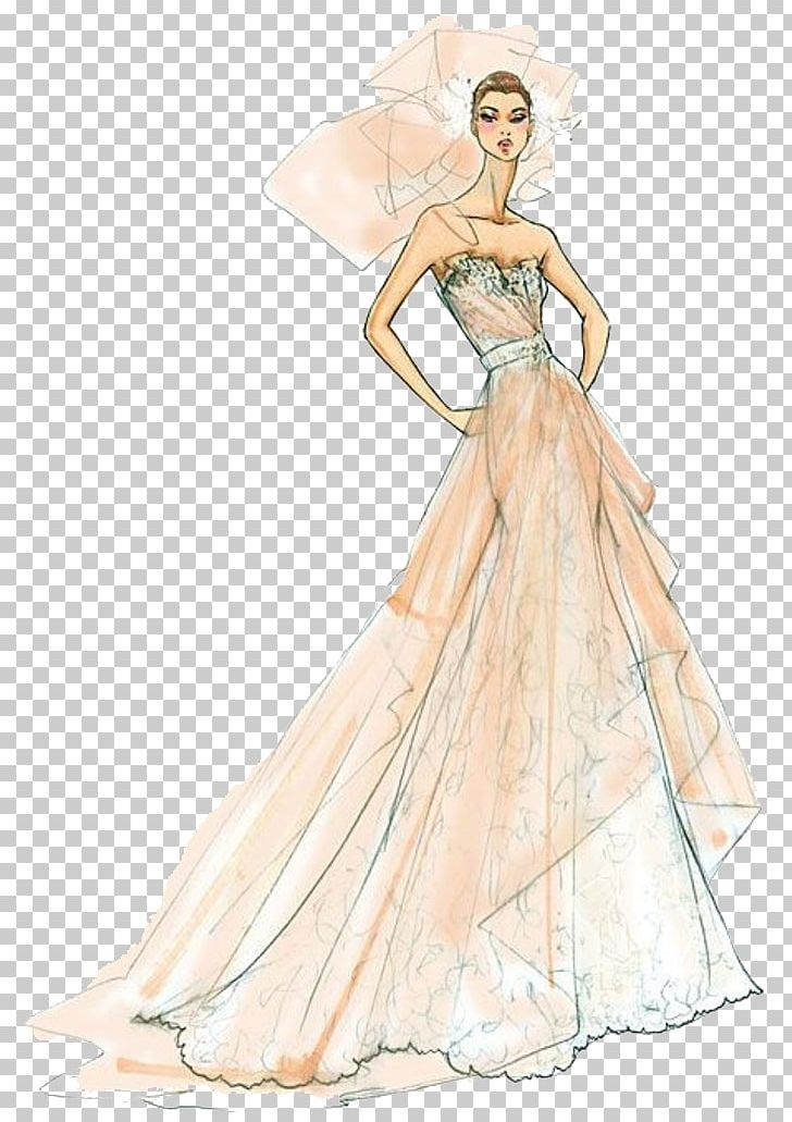 Fashion Illustration Fashion Design Drawing Sketch Png Clipart Clothing Costume Design Creative Creative Wedding Evening Gown