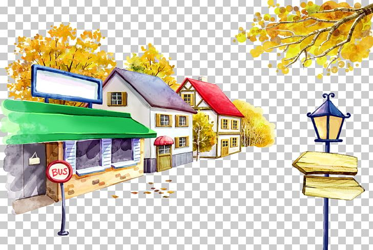 Bus Stop Cartoon Illustration Png Clipart Animation