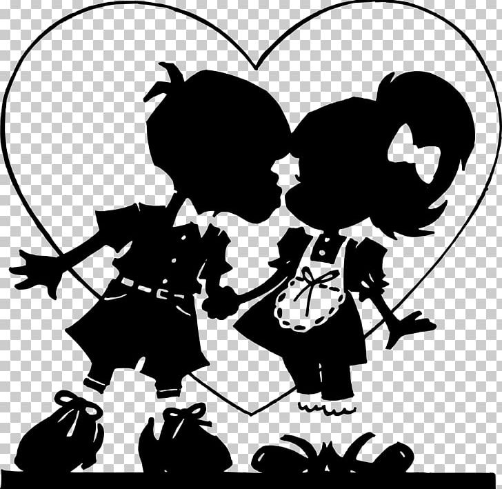 Valentines Day Heart Love Png Clipart Black Black And